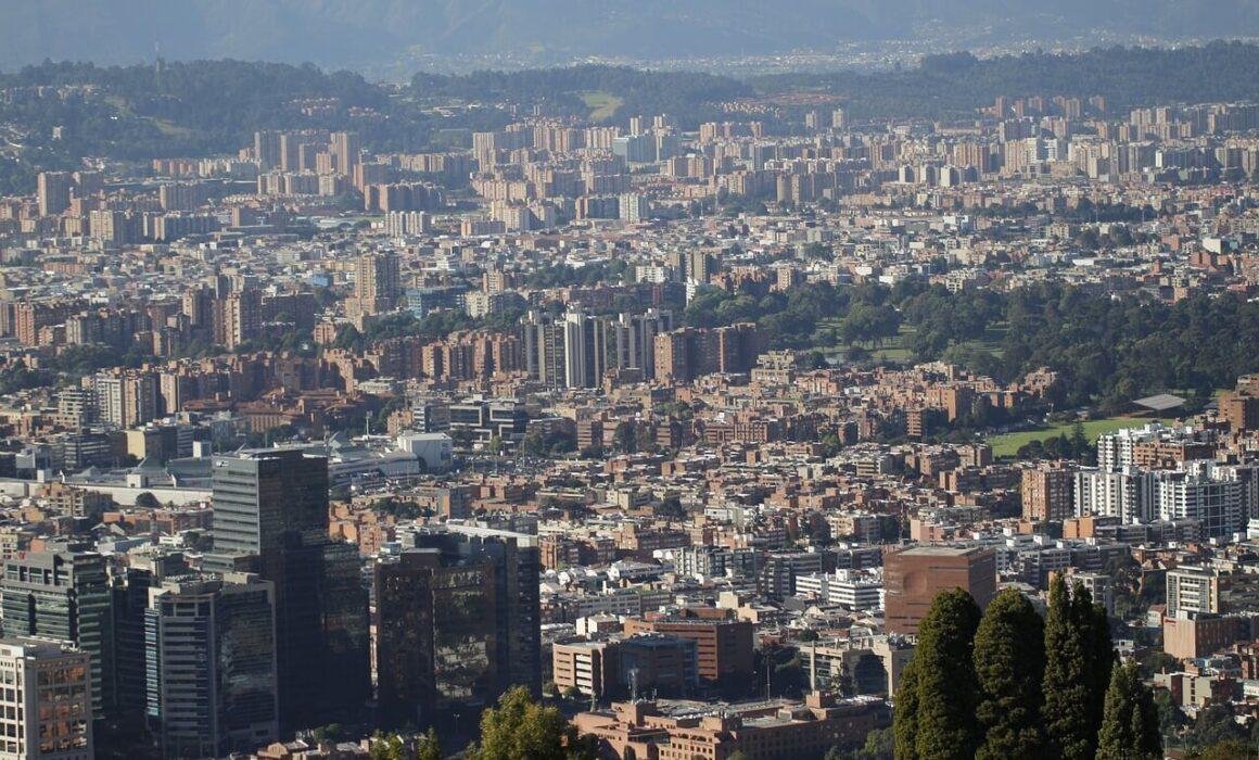Fotografía de Bogotá panoramica