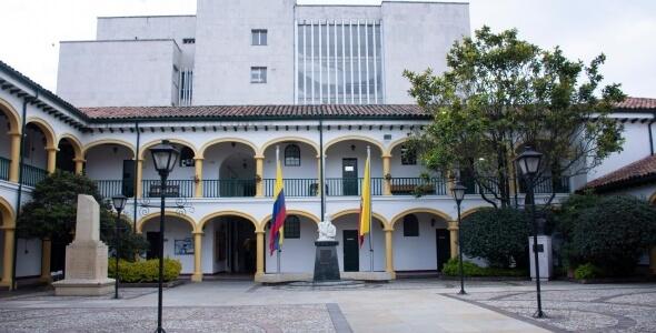 fotografía interna del concejo de Bogotá