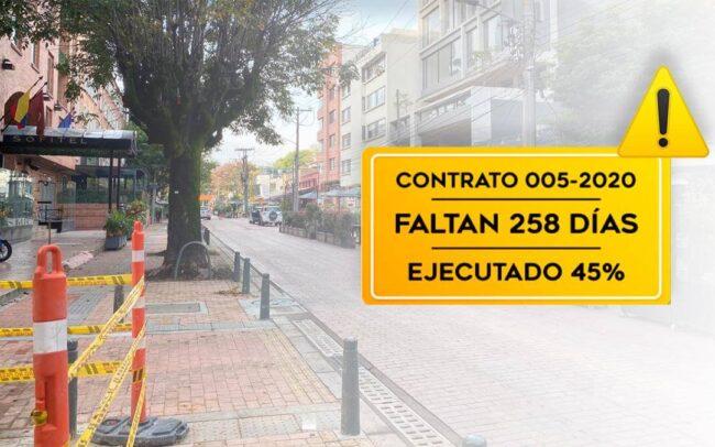 aviso obras públicas