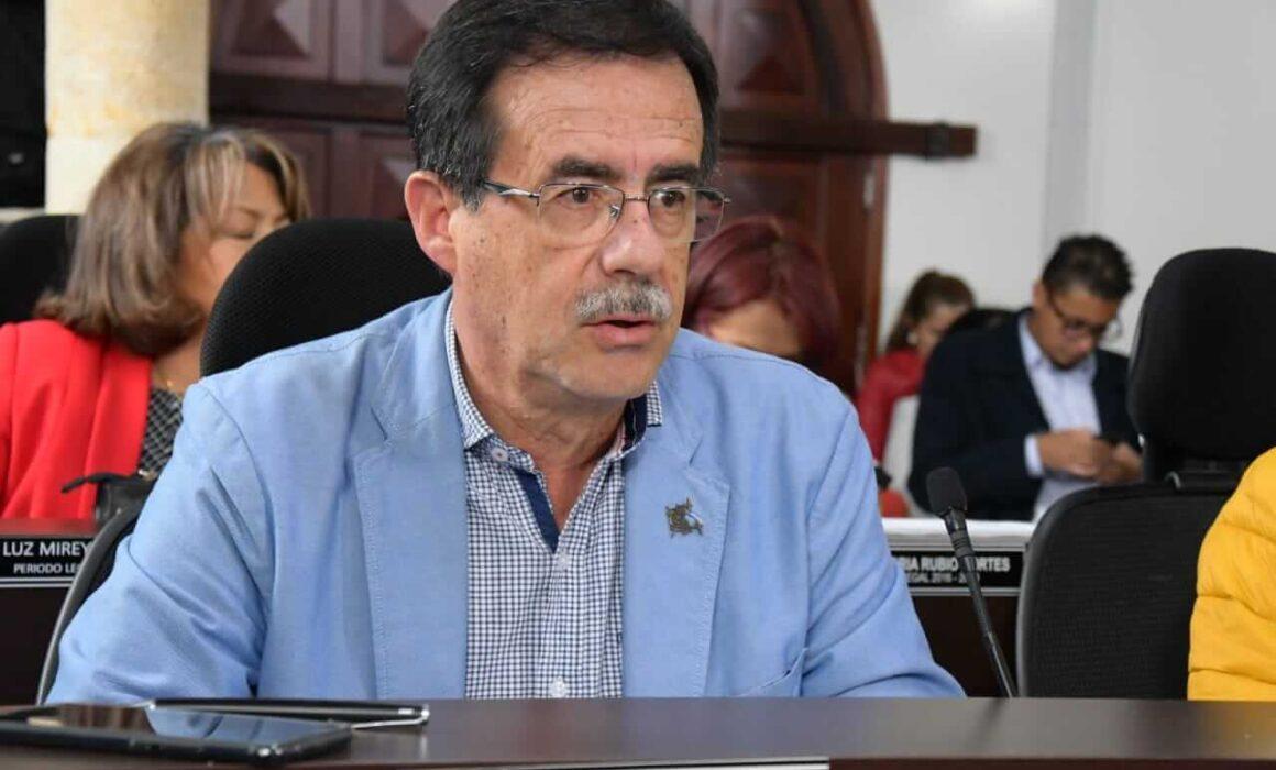 Concejal en concejo de Bogotá