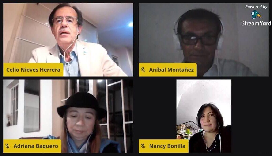 Encuentro virtual del concejal Celio Nieves Herrera