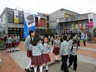 estudiantes en colegio distrital