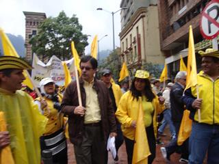 marcha del polo democrático