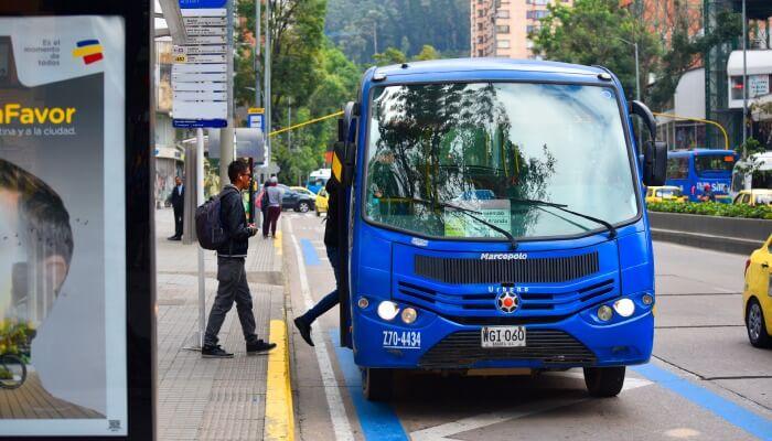 Sitp en Bogotá